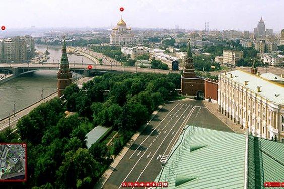 Виртуальный тур по Кремлю