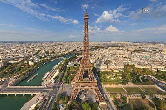 Виртуальный тур по Парижу