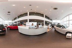 Виртуальный тур по автосалону AUDI