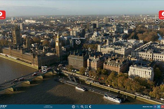 Виртуальный тур по Лондону