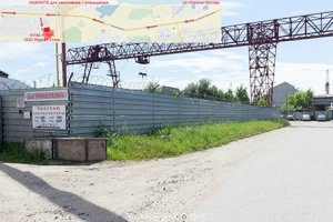 Схема проезда до склада и офиса ООО Маркет Сталь