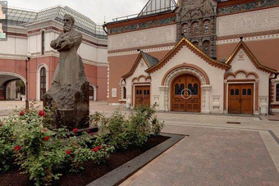 В виртуальный тур по Третьяковской галерее