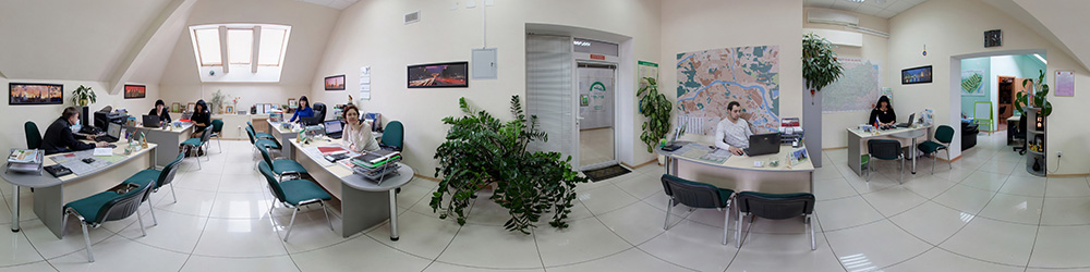 Виртуальный тур по офису агентства недвижимости Арбат в Твери