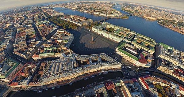 виртуальный тур по Санкт-Петербургу