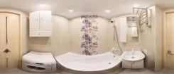 Отделка ванной комнаты в стандартном панельном доме