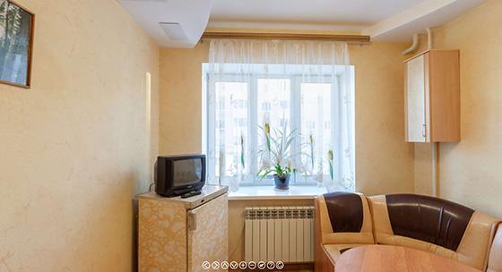 виртуальный тур по квартире, сдаваемой посуточно в аренду