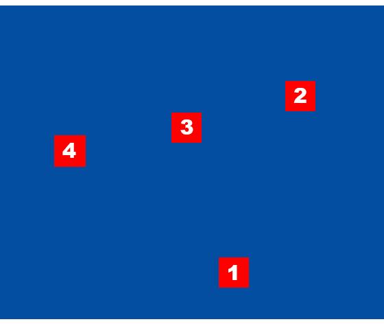 план квартиры с примерами точек съемки
