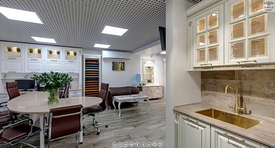 виртуальный 3D тур по салону мебели АРВА в Твери