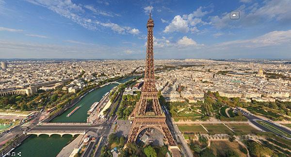Совершить виртуальный тур по Парижу