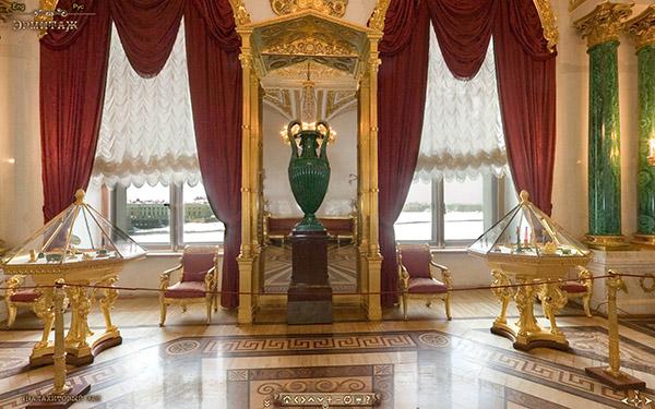 виртуальный тур по залам Эрмитажа