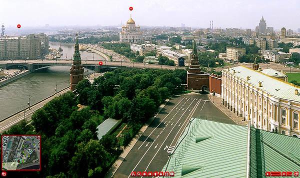 виртуальная экскурсия по Кремлю