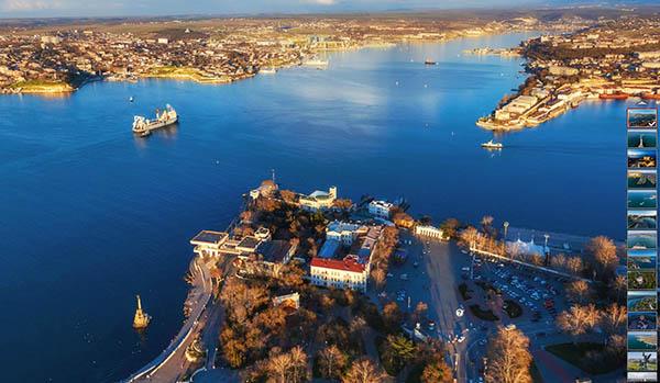 красивый виртуальный тур по Севастополю