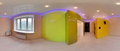 """3D панорама комнаты """"Сырный домик"""""""
